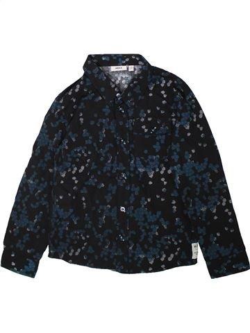Chemise manches longues garçon MEXX bleu foncé 7 ans hiver #1350403_1