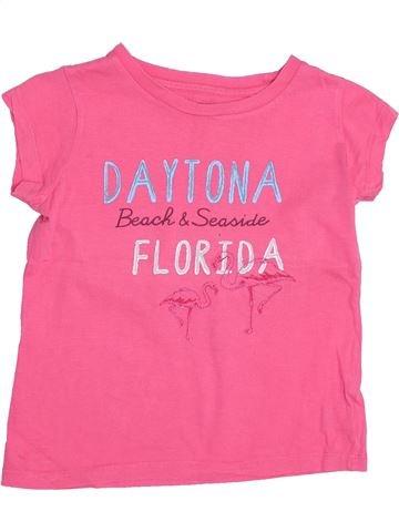 Camiseta de manga corta niña CFK rosa 8 años verano #1350466_1