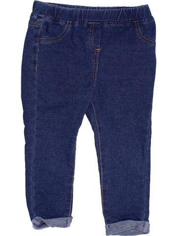 Pantalon fille CADET ROUSSELLE bleu 2 ans été #1350795_1