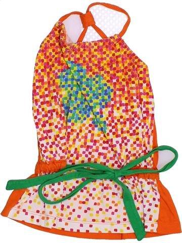 Robe fille AGATHA RUIZ DE LA PRADA orange 2 ans été #1350982_1