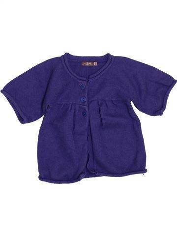 Gilet fille BOUT'CHOU violet 3 ans hiver #1351212_1