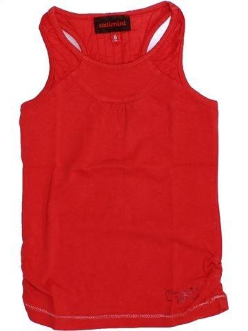 Camiseta sin mangas niña CATIMINI rojo 6 años verano #1351288_1