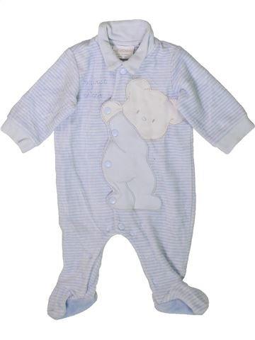 Pyjama 1 pièce garçon CHICCO gris 1 mois hiver #1351637_1