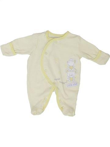Pyjama 1 pièce unisexe GEORGE beige prématuré été #1351673_1