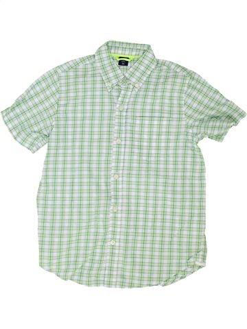Chemise manches courtes garçon GAP gris 9 ans été #1351714_1