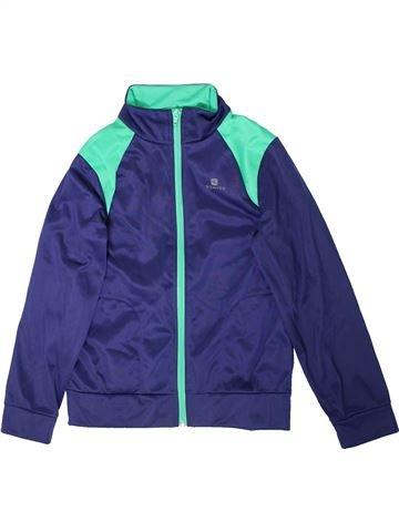 Ropa deportiva niño DOMYOS violeta 10 años invierno #1351836_1