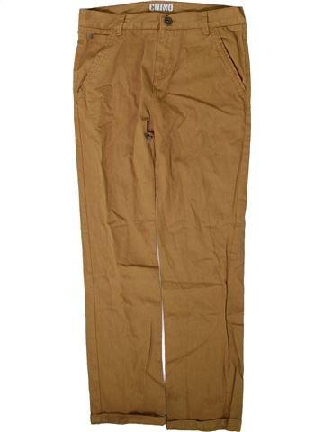 Pantalon garçon URBAN 65 OUTLAWS marron 13 ans été #1351914_1