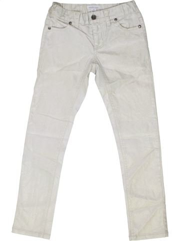 Pantalon fille PUMPKIN PATCH blanc 8 ans été #1352144_1