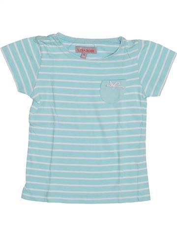 Camiseta de manga corta niña LISA ROSE gris 6 años verano #1352920_1