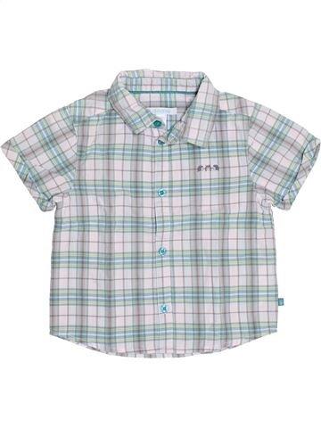 Chemise manches courtes garçon OKAIDI gris 2 ans été #1352961_1