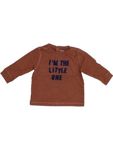 Camiseta de manga larga niño BOUT'CHOU marrón 12 meses invierno #1353067_1