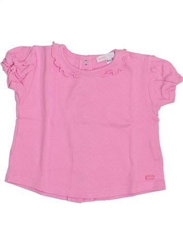 Camiseta de manga corta niña CONFETTI rosa 3 meses verano #1353581_1
