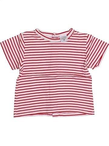 T-shirt manches courtes garçon LES BEBES SONT COMME ÇA rose 3 mois été #1354204_1