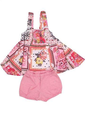 Vestido niña MARÈSE rosa 6 meses verano #1354617_1