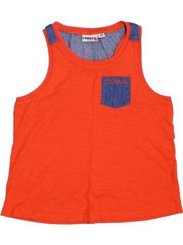 Top - Camiseta de tirantes niño CREEKS rojo 10 años verano #1354642_1