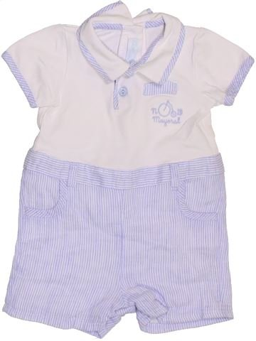 Combinación corta niño MAYORAL blanco 3 meses verano #1355383_1