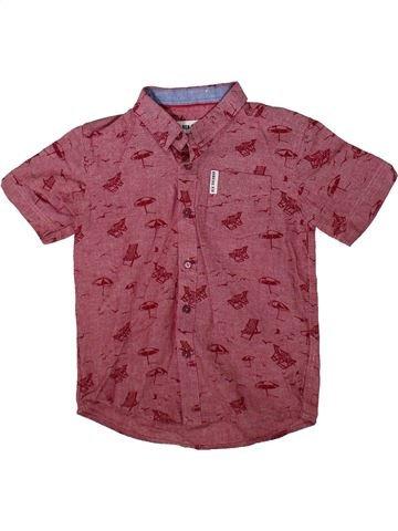 Chemise manches courtes garçon BEN SHERMAN violet 7 ans été #1355421_1