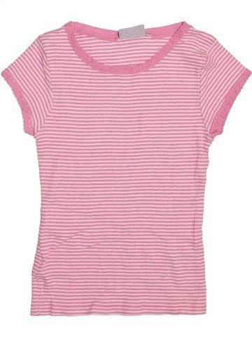 T-shirt manches courtes fille I LOVE GIRLSWEAR rose 7 ans été #1355514_1