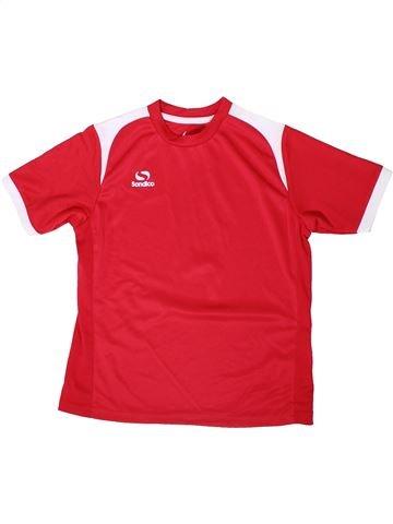 Camiseta deportivas niño SONDICO rojo 10 años verano #1355647_1
