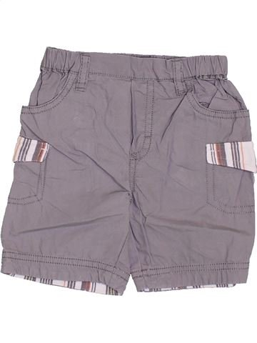 Short-Bermudas niño P'TIT BISOU gris 6 meses verano #1355946_1