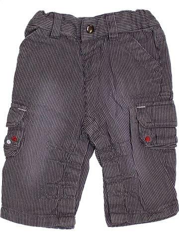 Pantalon garçon 3 SUISSES gris 3 mois été #1355976_1