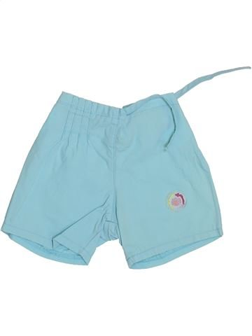 Short-Bermudas niña AUBISOU azul 3 meses verano #1356519_1