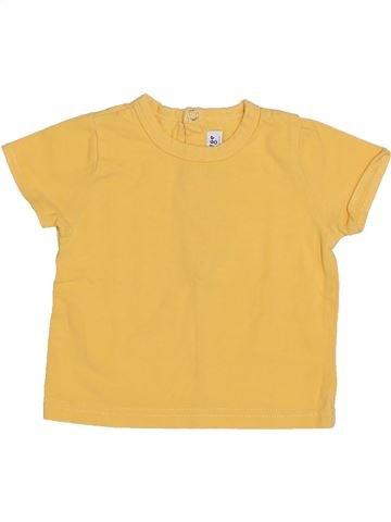 Camiseta de manga corta niño SUCRE D'ORGE naranja 3 meses verano #1356540_1