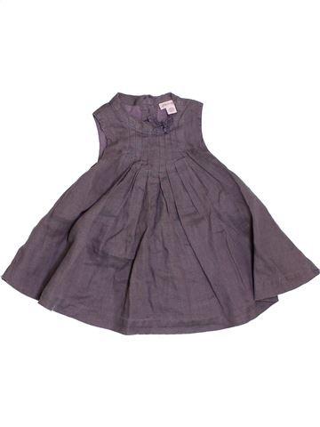 Vestido niña GENERATION Z gris 3 meses verano #1356694_1