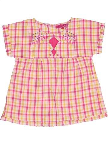 Blusa de manga corta niña LISA ROSE beige 8 años verano #1356801_1