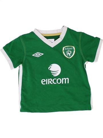 T-shirt manches courtes garçon UMBRO vert 18 mois été #1357205_1