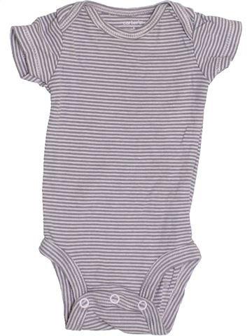 Camiseta de manga corta niño CARTER'S gris 0 meses verano #1357491_1
