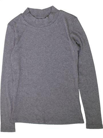 T-shirt manches longues fille TAMMY violet 13 ans hiver #1357719_1