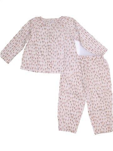 Pyjama 2 pièces fille BOUT'CHOU violet 3 ans hiver #1357850_1