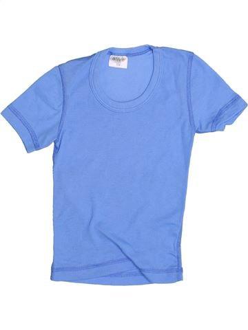T-shirt manches courtes garçon ALIVE bleu 4 ans été #1357967_1