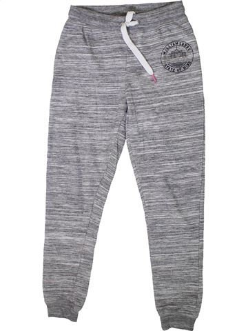 Jogging fille V BY VERY gris 10 ans hiver #1358049_1