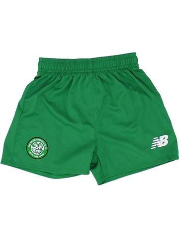 Short de sport garçon NEW BALANCE vert 2 ans été #1358050_1