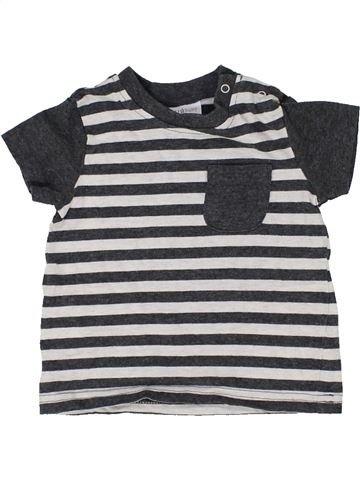 T-shirt manches courtes garçon NEXT BABY gris 6 mois été #1359623_1
