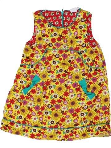 Vestido niña MINI CLUB amarillo 3 años invierno #1359666_1