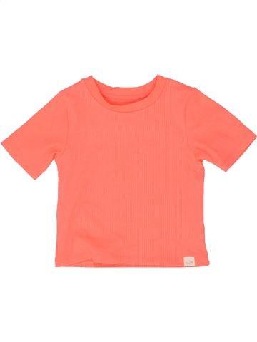 T-shirt manches courtes fille RIVER ISLAND orange 4 ans été #1360242_1