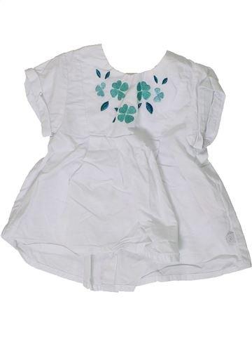 Túnica niña OBAIBI blanco 6 meses verano #1360653_1