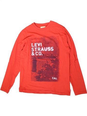 T-shirt manches longues garçon LEVI'S rouge 16 ans hiver #1360914_1