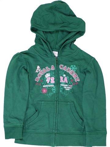 Sweat fille C&A vert 4 ans hiver #1360975_1