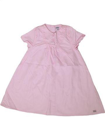 Robe fille NANO & NANETTE rose 2 ans été #1361099_1