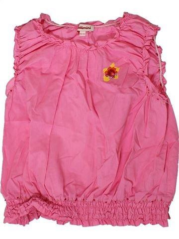 Blusa de manga corta niña CATIMINI rosa 10 años verano #1361141_1