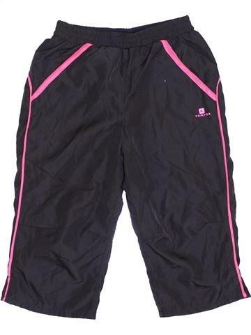 Sportswear fille DOMYOS noir 8 ans été #1361458_1