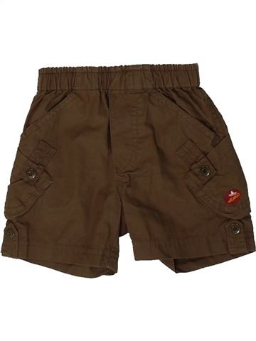 Short - Bermuda garçon P'TIT BISOU marron 3 mois été #1361502_1