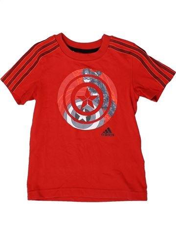 Camiseta de manga corta niño ADIDAS rojo 5 años verano #1361804_1