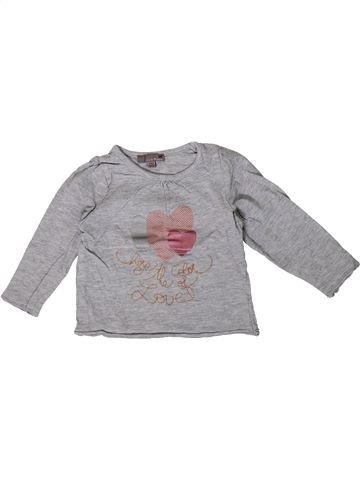 Camiseta de manga larga niña LISA ROSE gris 2 años invierno #1362000_1