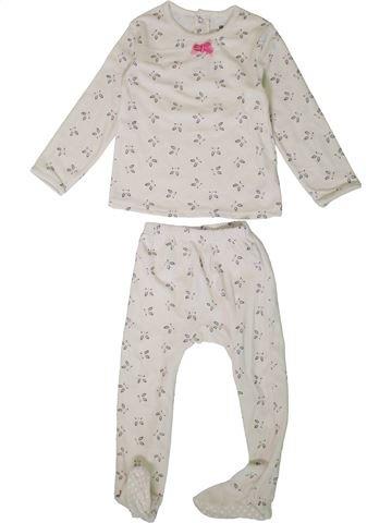 Pyjama 2 pièces fille LA REDOUTE CRÉATION rose 3 ans hiver #1362080_1
