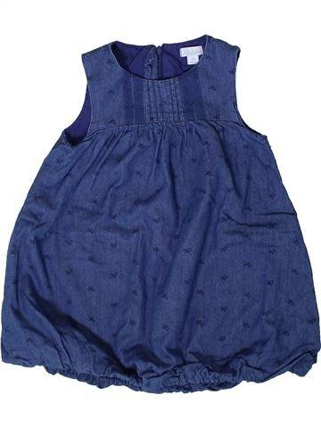 Vestido niña KIMBALOO azul 2 años verano #1362107_1